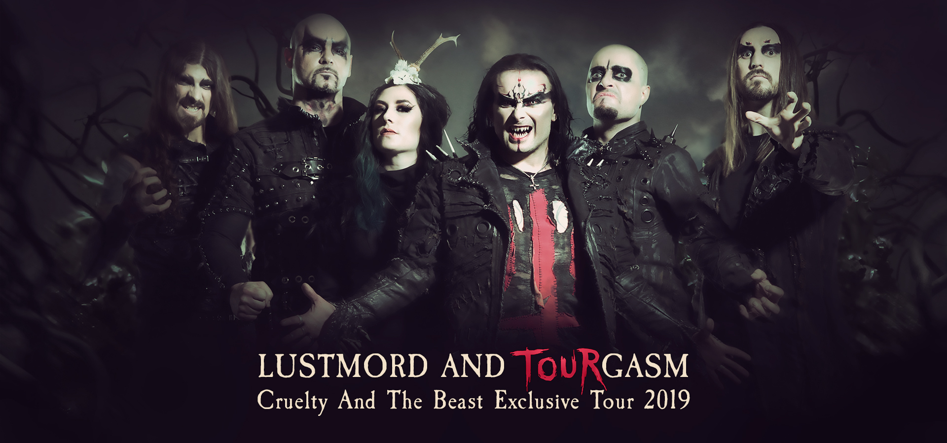 CRADLE OF FILTH RUSSIAN TOUR 2019